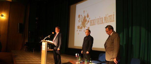 Slavnostní večer u příležitosti 73. výročí Karpatsko-dukelské operace v RSVK v Praze