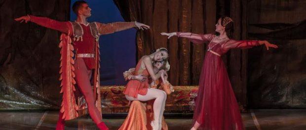 Балет «Ромео и Джульетта» на сцене пражского театра «Гиберния»