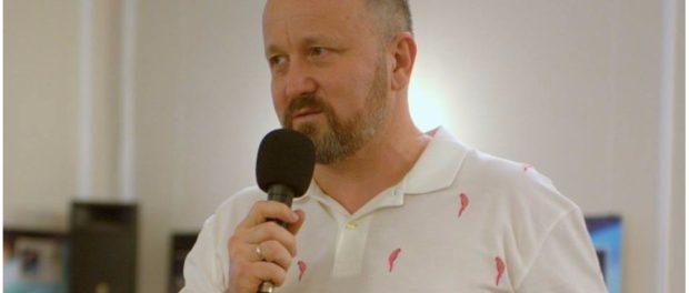 Презентация новой книги писателя Вадима Фёдорова в РЦНК в Праге