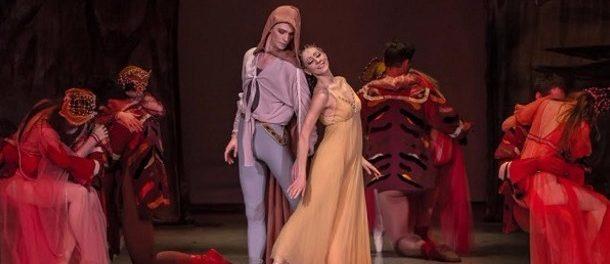 """Balet """"Romeo a Julie"""" na scéně pražského divadla Hybernia"""
