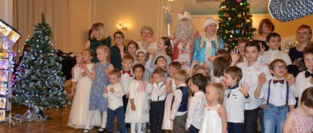 Новогоднее представление для самых маленьких прошло в РЦНК в Праге