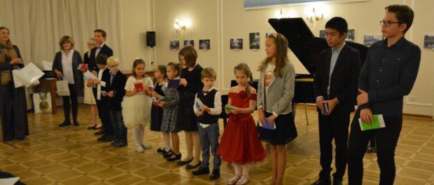 Концерт учеников фортепианной школы «Gradus ad Parnassum» в РЦНК в Праге