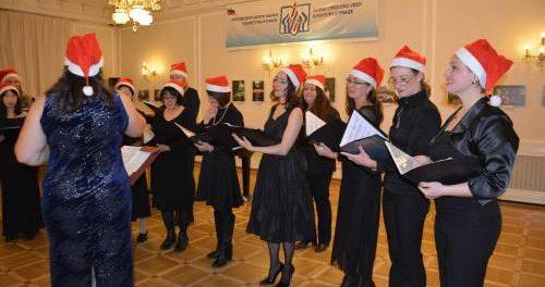 Рождественский концерт международного женского хора  «Viva Voce» в РЦНК в Праге