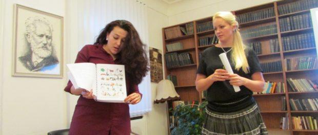 """Prezentace """"Nové školy"""" rychlého čtení v RSVK v Praze"""