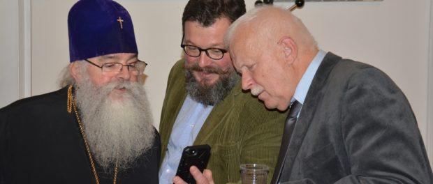 Встреча чешских выпускников МГИМО с Митрополитом Петрозаводским и Карельским Константином в РЦНК в Праге