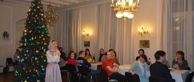 Вечер «Старый Новый год» на курсах русского языка при РЦНК в Праге