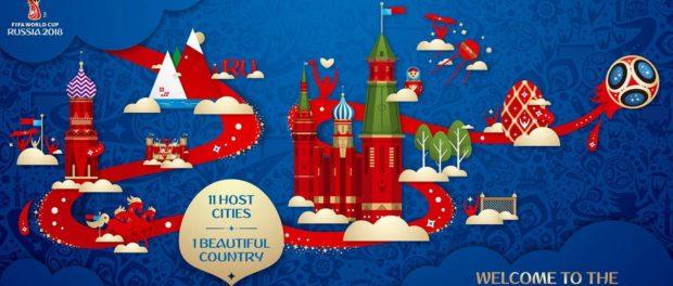 Informace pro zahraniční cestující ruských železnic v období konání MS ve fotbalu v Ruské federaci