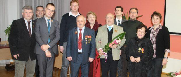 Вечер памяти 75-летия Сталинградской битвы в чешском городе Острава