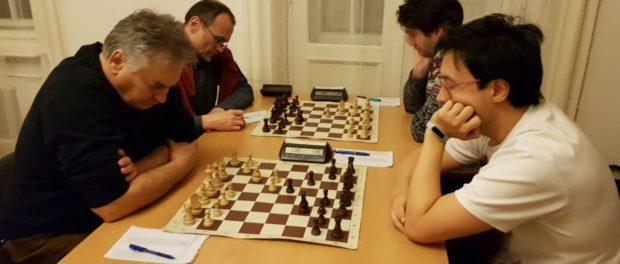 Игра группового Чемпионата Праги по шахматам прошла в РЦНК