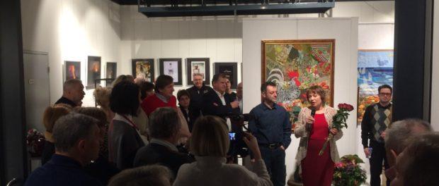 """V Praze byla zahájena personální výstava ruské sochařky Valerie Koškiny """"Umění souhry"""""""
