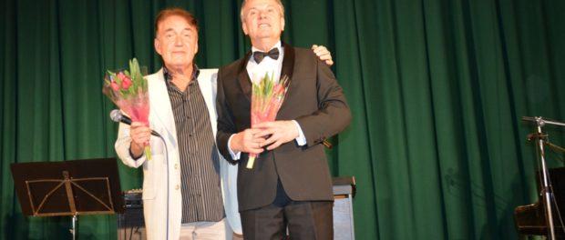 Koncert ruského pěvce a skladatele L. Bergera v RSVK v Praze