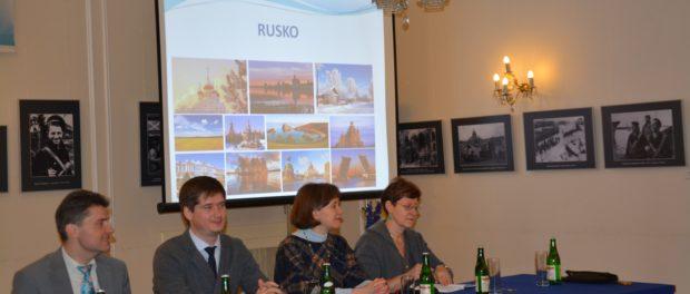 Setkání české mládeže, jež se chystá studovat na ruských vysokých školách, se uskutečnilo v RSVK v Praze