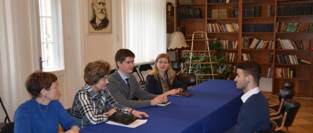 Výběr kandidátů na studium v MGIMO se uskutečnil v RSVK v Praze