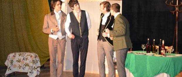 Премьера спектакля «Игроки» по пьесе Н.В. Гоголя в РЦНК в Праге
