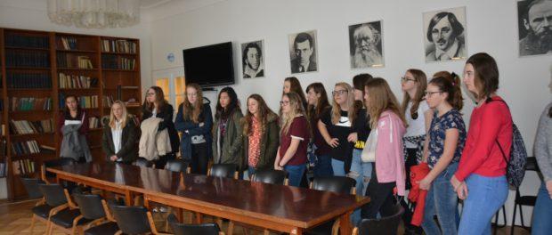 Den ruského jazyka pro české žákyně v RSVK v Praze