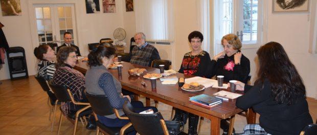 Заседание студии Европейского конгресса литераторов «Поэзия весны и любви» в РЦНК в Праге
