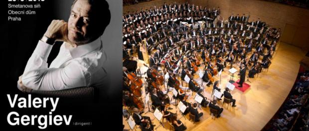 Přijíždí slavný dirigent Valerij Gergijev s orchestrem Mariinského divadla