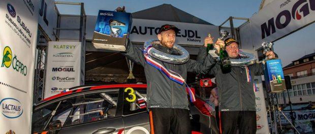 Российские автогонщики впервые в истории приняли участие в ралли «Клатовы Шумава» в Чехии