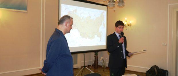 Книга путевых заметок чешского журналиста о современной России была презентована в РЦНК в Праге