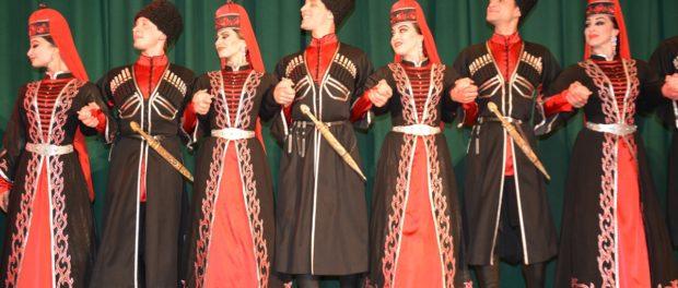 Выступление  Государственного ансамбля народной песни и танца Адыгеи «Исламей» в РЦНК в Праге