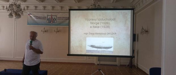 90. výročí zachránění vzducholodě Itálie sovětskými námořníky si připomněli v RSVK v Praze