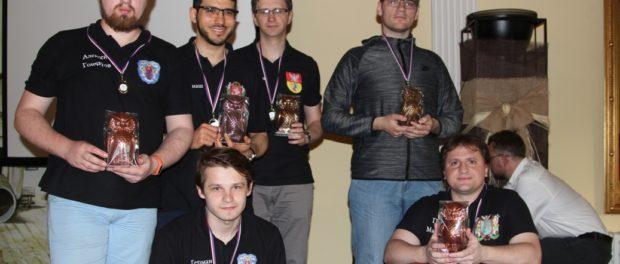 Международный фестиваль интеллектуальных игр  «Хрустальный Голем» 2018 прошел в Праге.