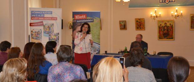 Презентация нового учебника русского языка для чешских школ в РЦНК в Праге