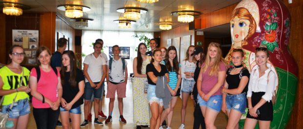 День русского языка для учеников чешской гимназии из города Светла над Сазавой