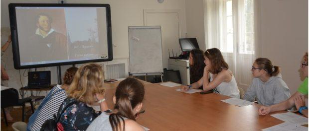 День русского языка для студентов пражской гимназии «Арабска»