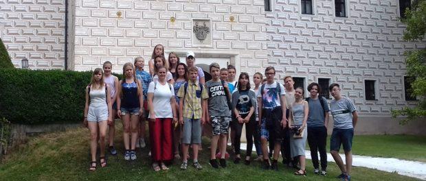 В чешском городе Бржезнице завершилась первая смена XII Международной летней школы с изучением русского и чешского языков