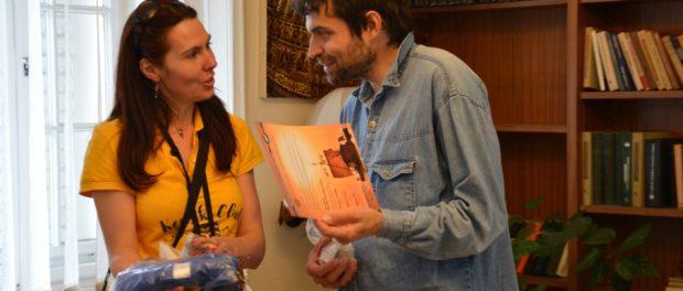 Встреча Международной молодежной экспедиции «Тура Хейердала» в РЦНК в Праге