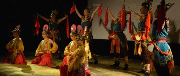 Концерт фольклорных ансамблей Китая, России и Чехии в РЦНК в Праге