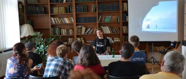 Setkání s fotografem a cestovatelem Pavlem Oskinem v RSVK v Praze