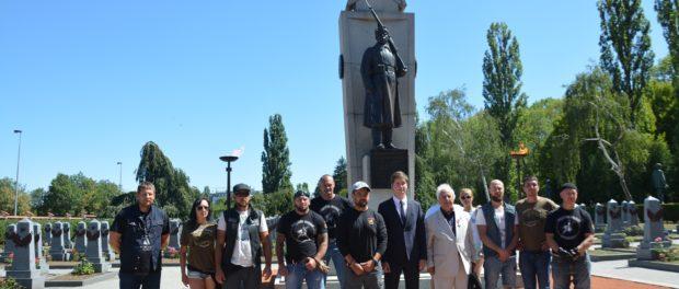 Участники исторического мотопробега «Дорогами Победы» прибыли в Прагу