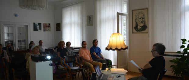 Творческий вечер чешского  писателя и путешественника «Я шагаю по Москве…» в РЦНК в Праге