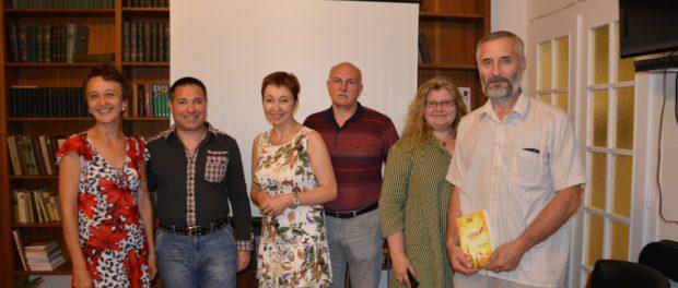 Setkání s moskevským nakladatelem Eduardem Pobužanským  v RSVK v Praze