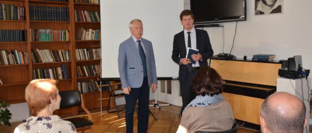 Выставка-презентация книг российских издательств  «Книжные центры России: Москва и провинция»  в РЦНК в Праге