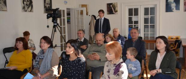 Výstava – prezentace Asociace nakladatelů Ruska v RSVK v Praze