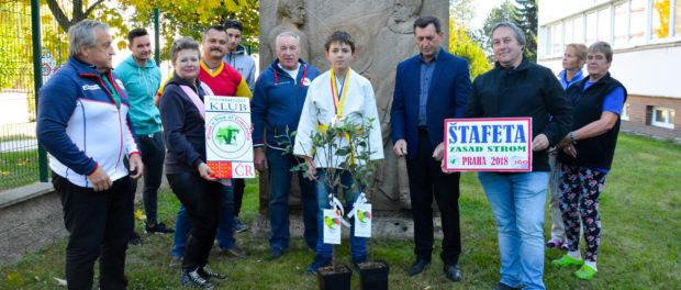 При поддержке РЦНК в Праге прошла акция в рамках проекта «Посади дерево дружбы и мира»