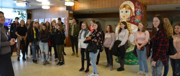 День открытых дверей в РЦНК Праги для чешских студентов из города Кладно