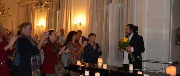 Творческий вечер Александра Прохорова-Толстого в РЦНК в Праге