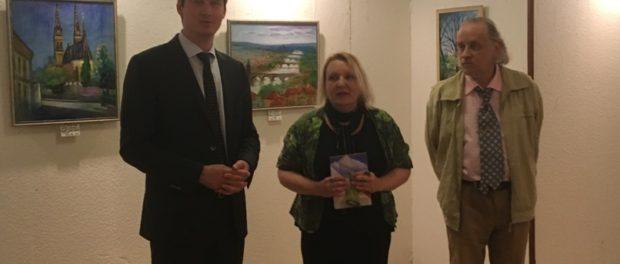 Выставка «Май в Праге» открылась в РЦНК в Праге