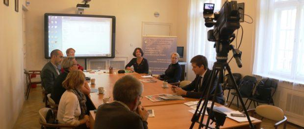 Методический семинар для журналистов русскоязычных СМИ в РЦНК в Праге
