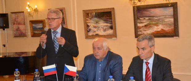 Круглый стол «Актуальные вопросы российско-чешского экономического сотрудничества» прошел в РЦНК в Праге