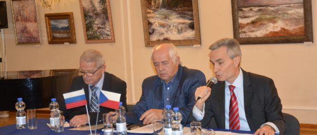"""Kulatý stůl """"Aktuální otázky česko-ruských ekonomických vztahů"""" se uskutečnil v RSVK v Praze"""