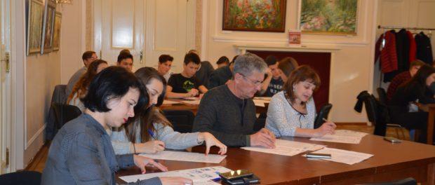Zeměpisný diktát se konal v RSVK v Praze