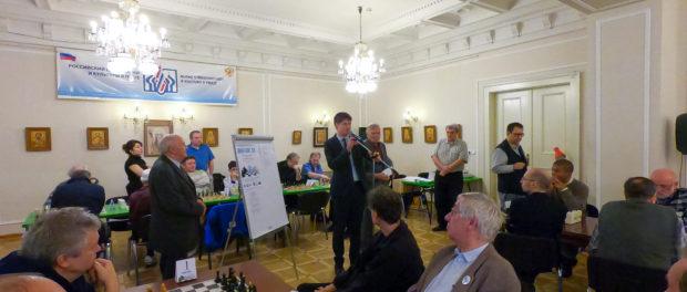 """XII. mezinárodní šachový turnaj """"Zimní gambit 2018"""" v RSVK v Praze"""