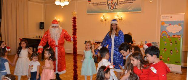 Детская ёлка Армянского субботнего детского сада «Манукнер» прошла в РЦНК в Праге
