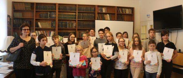 Награждение победителей конкурса «Книгуру в Чехии» прошло в РЦНК в Праге