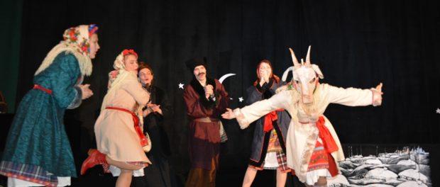 Премьера спектакля «Ночь перед Рождеством» на сцене РЦНК в Праге